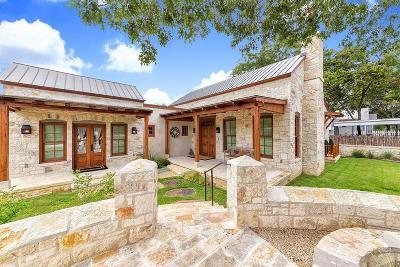 Fredericksburg Single Family Home For Sale: 213 W Schubert St
