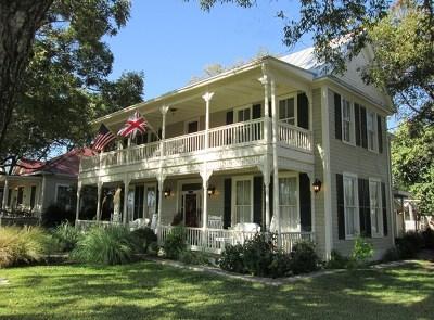 Fredericksburg Single Family Home For Sale: 312 E Travis St