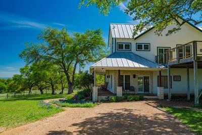 Blanco County Single Family Home For Sale: 1116 Old Post Oak Rd.