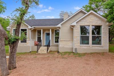 Gillespie County Single Family Home Under Contract W/Contingencies: 721 Northwood Hills Dr