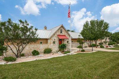 Kerr County Single Family Home For Sale: 133 Settlers Way