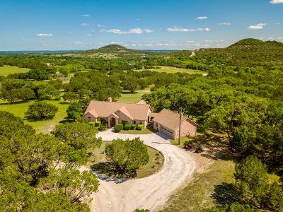 Blanco County Single Family Home For Sale: 340 Country Lane