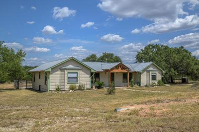 Blanco County Single Family Home For Sale: 525 River Oaks Dr.