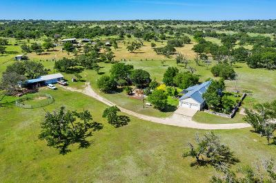 Gillespie County Single Family Home For Sale: 127 North Creek Rd