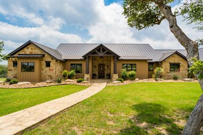 Fredericksburg Single Family Home For Sale: 486 Last Trl