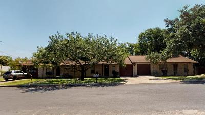 Fredericksburg Single Family Home Under Contract W/Contingencies: 303 S Creek St