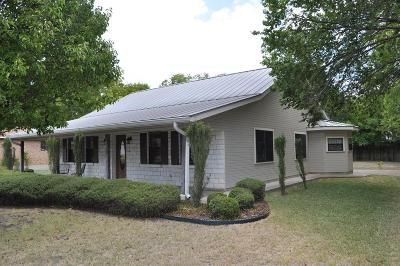 Fredericksburg Single Family Home Under Contract W/Contingencies: 405 Sunset St