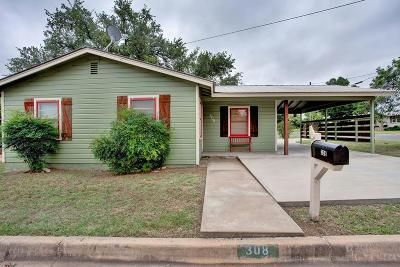 Llano Single Family Home For Sale: 308 W College St