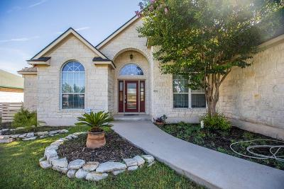Single Family Home For Sale: 606 Prickly Pear Court