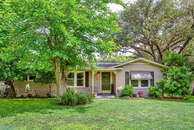 Kerrville Single Family Home Under Contract W/Contingencies: 137 N West Lane