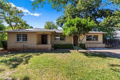 Fredericksburg Single Family Home For Sale: 806 N Adams St