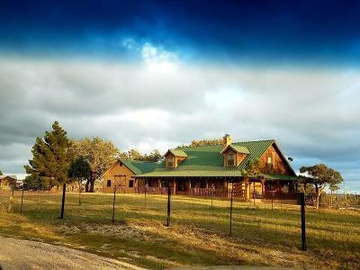 Fredericksburg Single Family Home For Sale: 819 Scenic Vista Dr