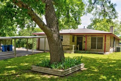 Kerrville Single Family Home Under Contract W/Contingencies: 720 Myrta St