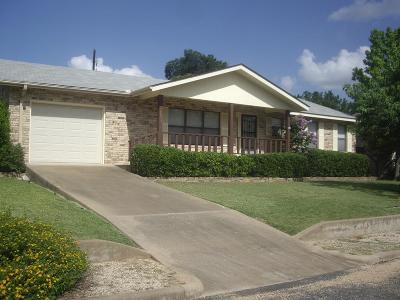 Fredericksburg Single Family Home For Sale: 1019 Avenue B