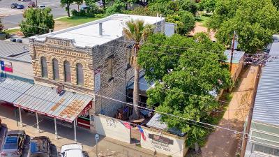 Fredericksburg Commercial For Sale: 232 W Main St