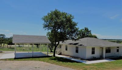 Gillespie County Single Family Home For Sale: 729 Crenwelge Rd