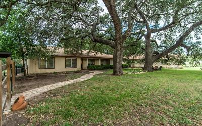 Fredericksburg Single Family Home For Sale: 12737 Hwy 16 N.