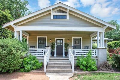 Fredericksburg Single Family Home Under Contract W/Contingencies: 304 S Olive St