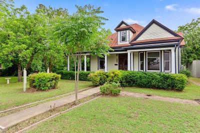Fredericksburg Single Family Home For Sale: 207 E San Antonio St
