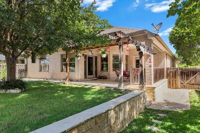 Fredericksburg Single Family Home Under Contract W/Contingencies: 305 E Chase Oaks Place