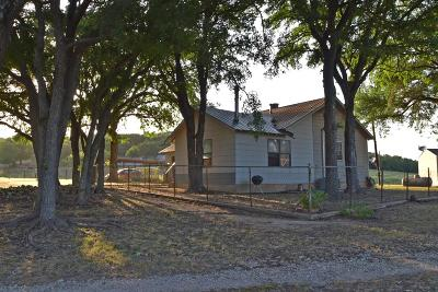 Fredericksburg Single Family Home Under Contract W/Contingencies: 6796 Doss Spring Creek Rd