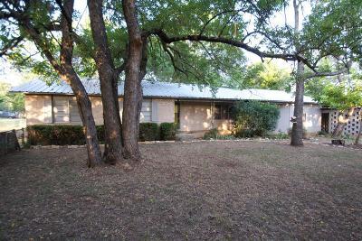 Fredericksburg Single Family Home For Sale: 404 W Burbank St