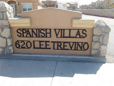 El Paso Multi Family Home For Sale: 620 Lee Trevino Drive #30