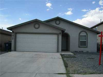 El Paso TX Single Family Home For Sale: $92,000