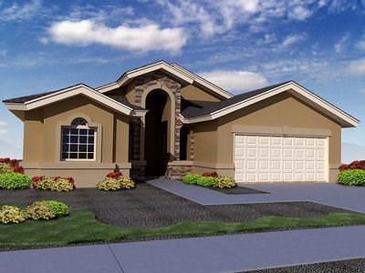 El Paso Single Family Home For Sale: 920 Pecos River Drive