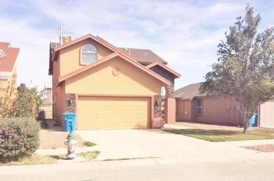 Socorro Single Family Home For Sale: 10441 Madison Lee Dr. Drive
