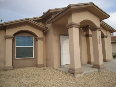 El Paso TX Single Family Home Sold: $99,950