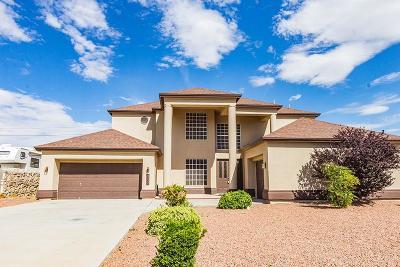 Canutillo Single Family Home For Sale: 7350 La Casa Way