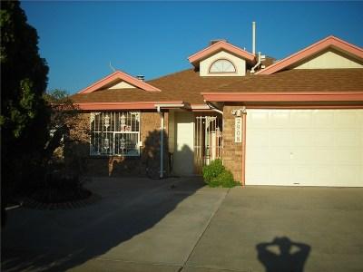El Paso Single Family Home For Sale: 2908 Lake Champlain Street SW