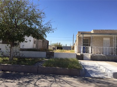 El Paso Single Family Home For Sale: 815 Tays Street