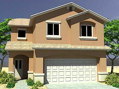 El Paso Single Family Home For Sale: 14929 Jerry Armstrong Court