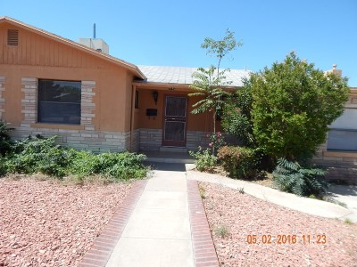 El Paso Single Family Home For Sale: 5140 Garry Owen Road