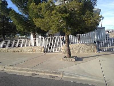 El Paso Single Family Home For Sale: 2001 Atlanta Avenue