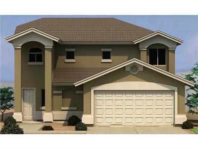 El Paso Single Family Home For Sale: 1145 Cielo Rojo Street