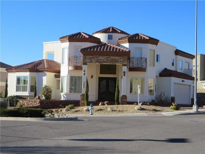 El Paso Single Family Home For Sale: 1245 Calle Del Sur