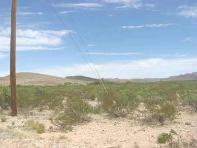 Residential Lots & Land For Sale: 1 Hueco Valley
