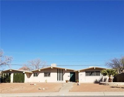 El Paso Single Family Home For Sale: 6324 Westwind Dr. Drive