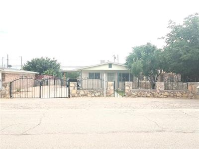 Fabens Single Family Home For Sale: 408 H Avenue