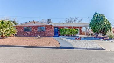 El Paso TX Single Family Home For Sale: $131,999