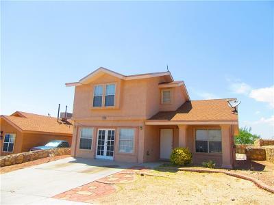 Socorro Single Family Home For Sale: 1191 Valley Ridge Drive