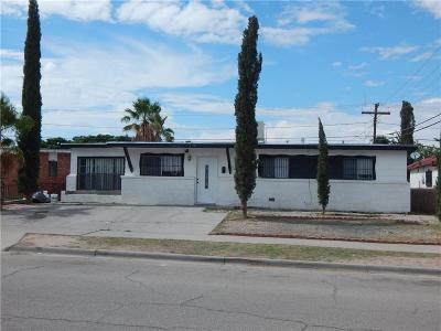 El Paso Single Family Home For Sale: 309 Jensen Avenue