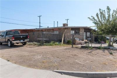 Canutillo Single Family Home For Sale: 1414 Banker Road