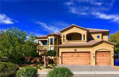 El Paso Single Family Home For Sale: 1119 Calle Parque Drive