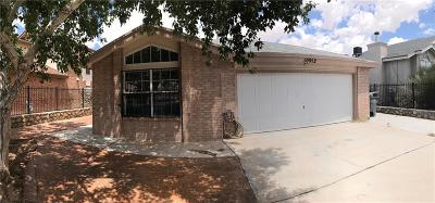 El Paso Single Family Home For Sale: 10912 Reef Sands Drive