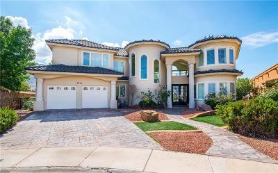 El Paso Single Family Home For Sale: 6352 Calle Del Rio