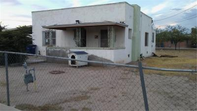 El Paso Single Family Home For Sale: 8145 San Jose Road